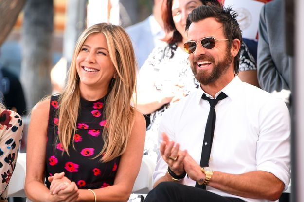 Jennifer Aniston et Justin Theroux en juillet 2017