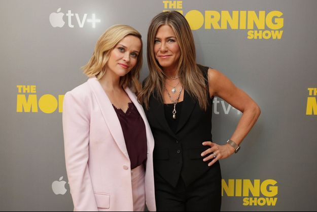 Reese Witherspoon et Jennifer Aniston à Los Angeles le 13 octobre 2019