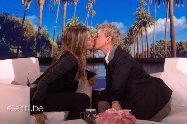 Jennifer Aniston et Ellen DeGeneres