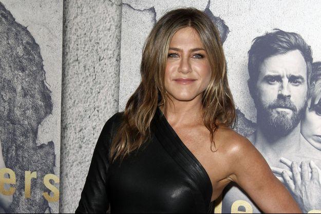 """Jennifer Aniston à la première de la saison 3 de """"The Leftovers"""" à Hollywood, le 4 avril 2017"""