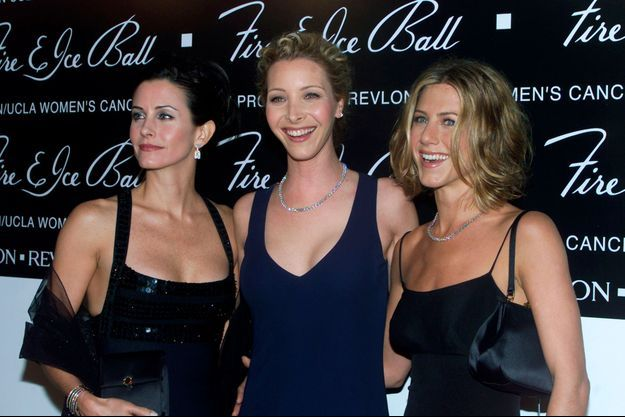 Courteney Cox, Lisa Kudrow et Jennifer Aniston