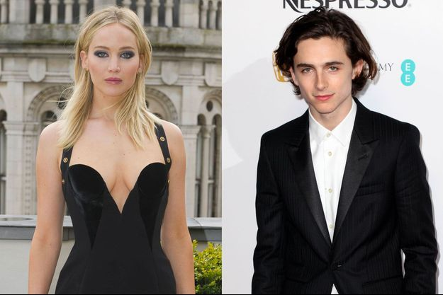 Jennifer Lawrence, Timothée Chalamet