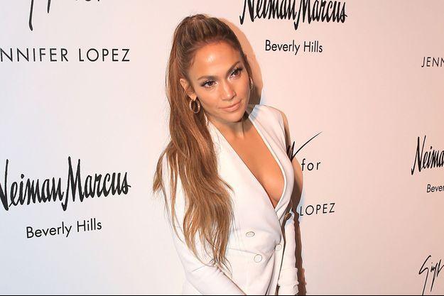 Jennifer Lopez, le 26 janvier 2017 à Los Angeles.