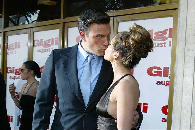 Ben Affleck et Jennifer Lopez, ici en 2003.