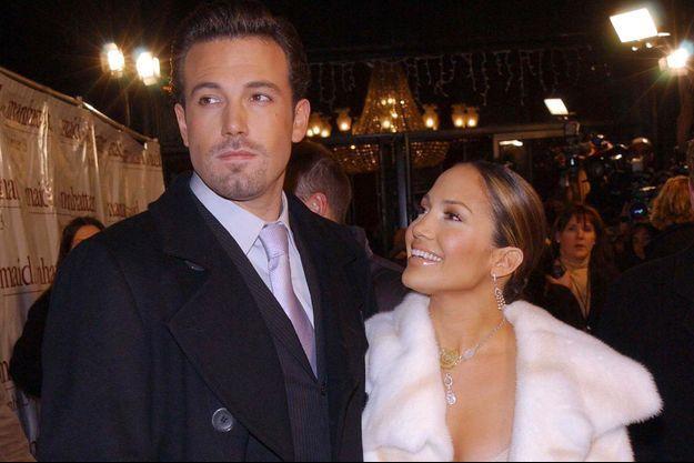 Jennifer Lopez et Ben Affleck en 2002.