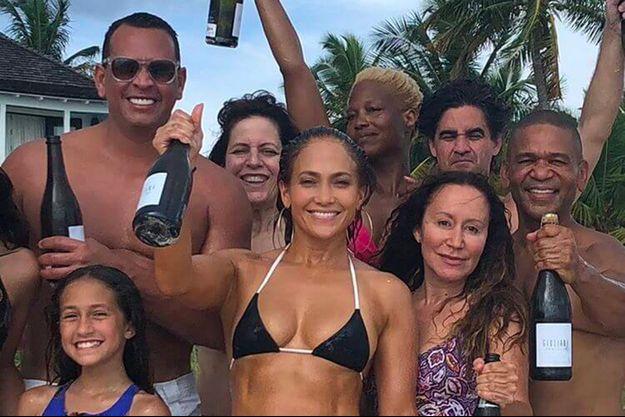 Jennifer Lopez fête ses 49 ans aux Bahamas