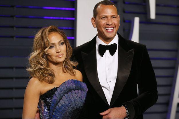Jennifer Lopez et Alex Rodriguez en janvier 2019