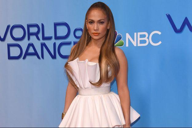 Jennifer Lopez en janvier 2018.