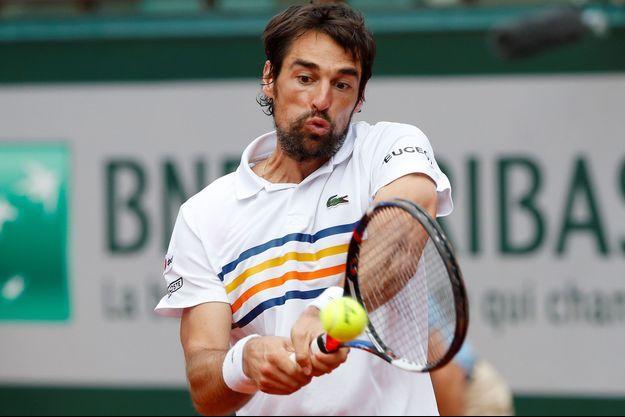 Jérémy Chardy à Roland Garros.