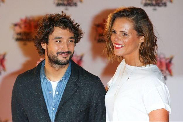 Jérémy Frérot et Laure Manaudou en 2015.
