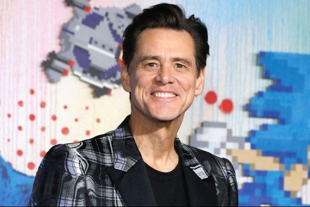 Jim Carrey à Westwood en février 2020.