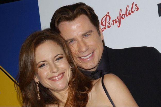 John Travolta avec Kelly Preston, en 2006.