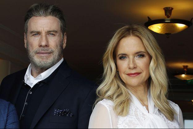 John Travolta et son épouse Kelly Preston en 2018