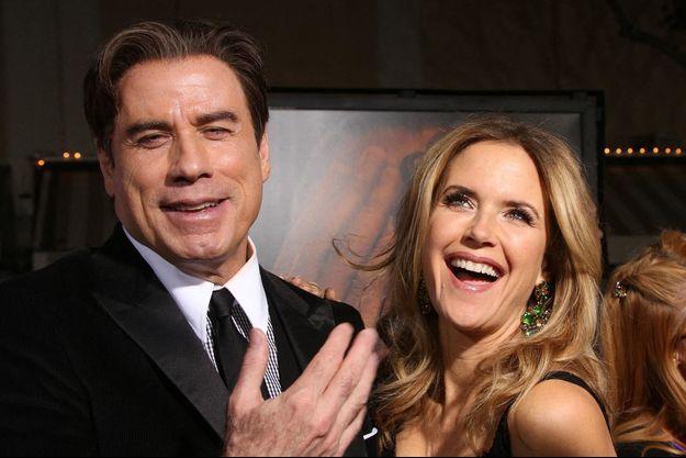 John Travolta et Kelly Preston