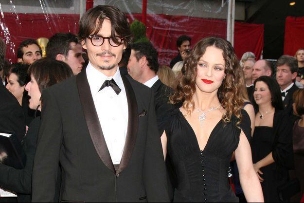 Johnny Depp et Vanessa Paradis en 2009.