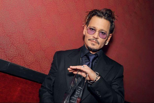Johnny Depp en 2016.