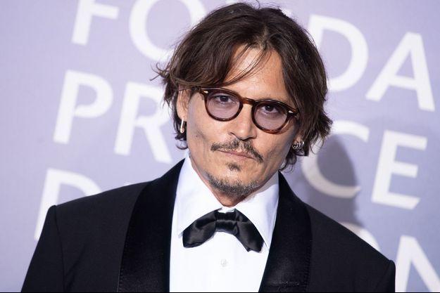 Johnny Depp en septembre 2020