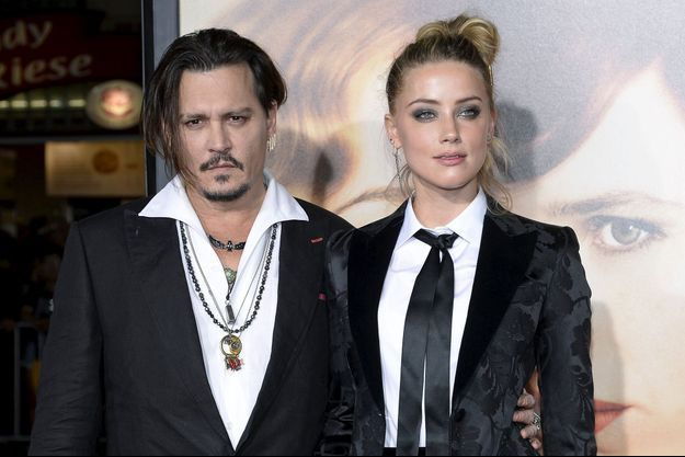Johnny Depp et Amber Heard en 2016