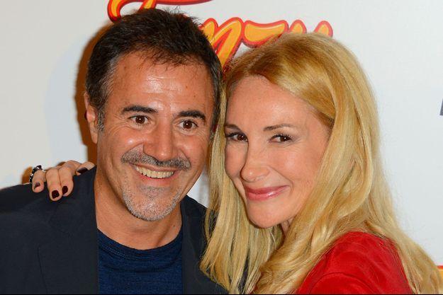 José Garcia et sa femme Isabelle Doval