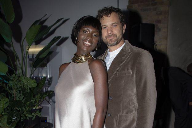 Jodie Turner-Smith et Joshua Jackson à Londres le 28 janvier 2020