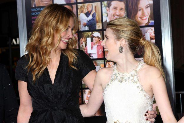 Julia et Emma Roberts