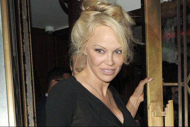 Pamela Anderson au festiva de Cannes 2017.