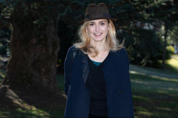 Julie Gayet à Luchon en février 2020.