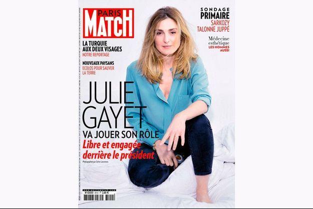Julie Gayet, photographiée par Sylvie Lancrenon.