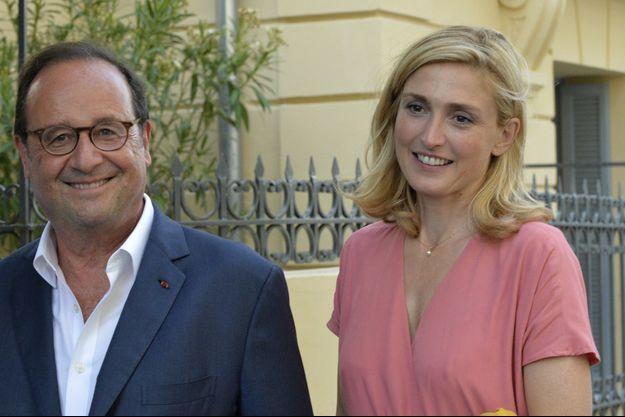 François Hollande et Julie Gayet à Vence le 19 juillet.