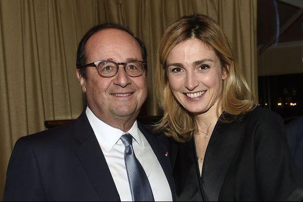 Julie Gayet et François Hollande à Paris, le 5 février 2019