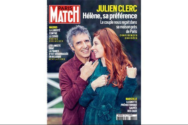 La couverture du numéro 3745 de Paris Match.