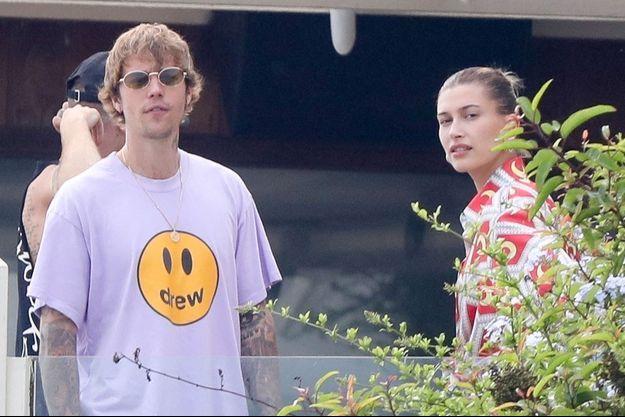 Justin et Hailey Bieber à Malibu le 21 août 2020