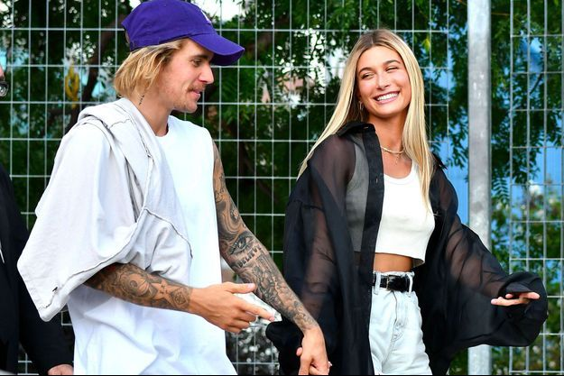 Justin Bieber et Hailey Baldwin à New York le 6 septembre 2018