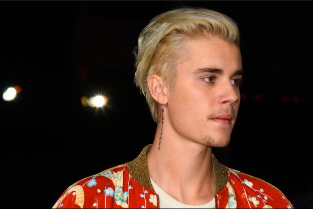 Justin Bieber au Saint Laurent Palladium à Los Angeles