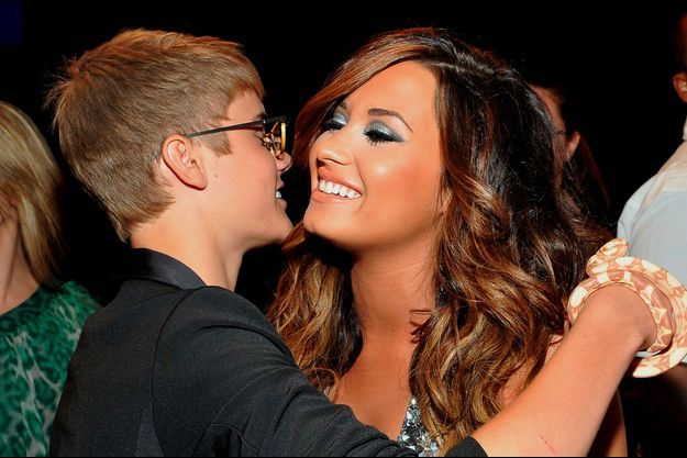Justin Bieber et Demi Lovato aux MTV Video Music Award en 2011