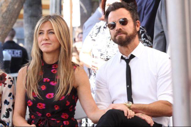 Jennifer Aniston et Justin Theroux en 2017