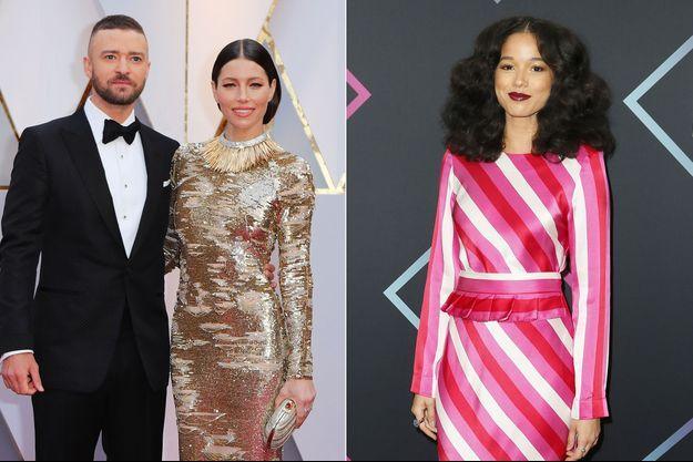 Justin Timberlake, Jessica Biel et Alisha Wainwright