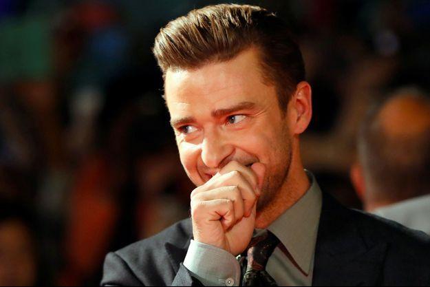 Justin Timberlake en septembre 2016.