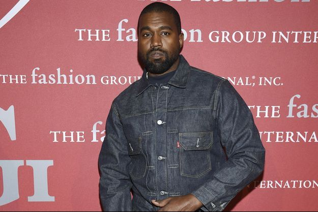 Kanye West à New York le 24 octobre 2019