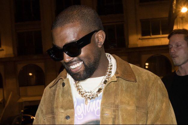 Kanye West à Paris en mars 2020.