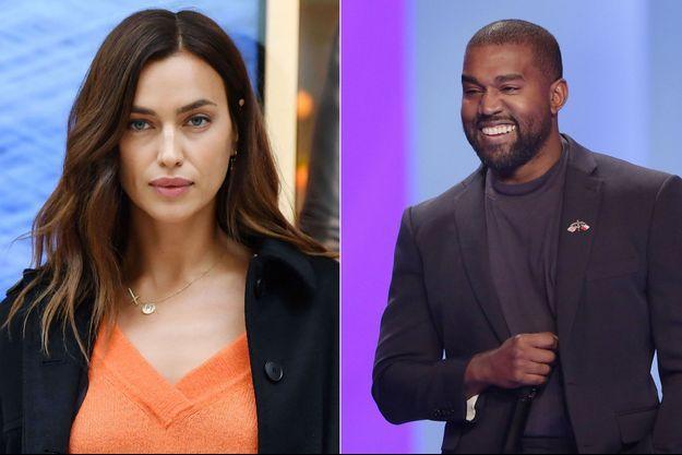 Irina Shayk et Kanye West
