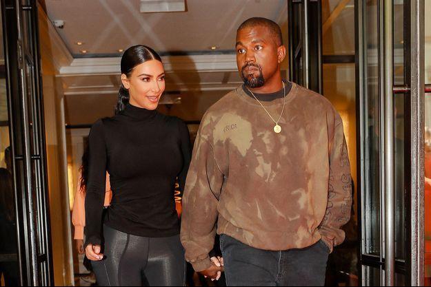 Kim Kardashian et Kanye West à New York, le 7 mai 2019