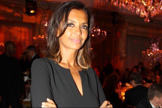 Karine Le Marchand le 25 janvier à Paris.