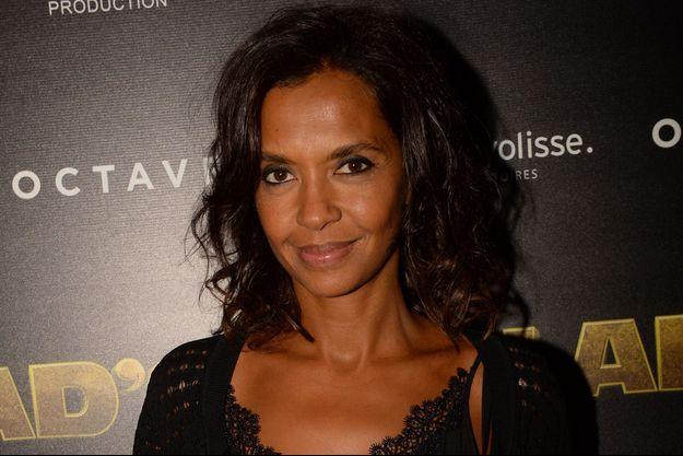 Karine Le Marchand en septembre à Paris.