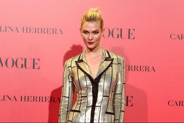 Karlie Kloss à la soirée Vogue à Madrid le 12 juillet 2018