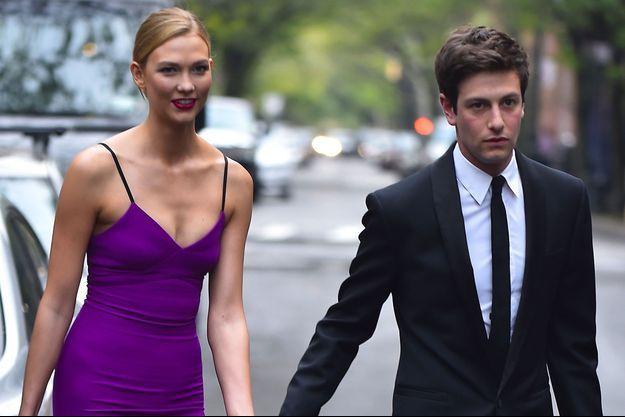 Karlie Kloss et Joshua Kushner en avril 2016 à New York