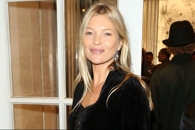 Kate Moss à Londres en octobre 2019.