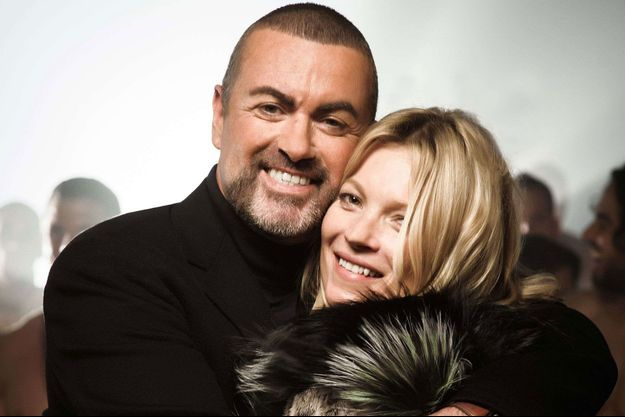 Kate Moss et George Michael