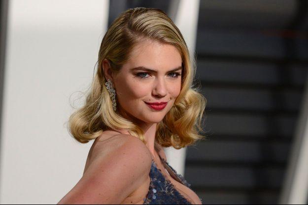 Kate Upton à la soirée Vanity Fair des Oscars à Beverly Hills, le 26 février 2017