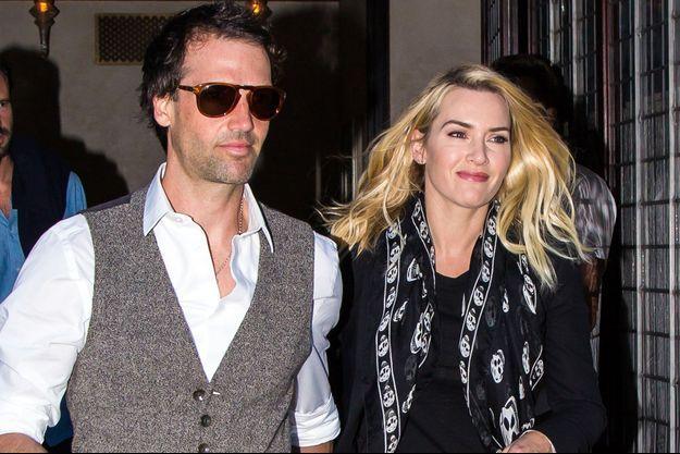 Kate Winslet et son mari Ned Rocknroll (Edward Abel Smith)